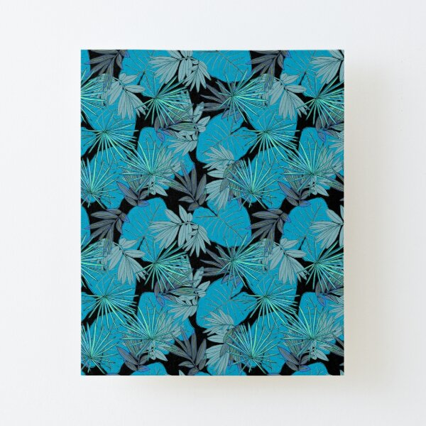 Tropical Jungle Canvas Mounted Print