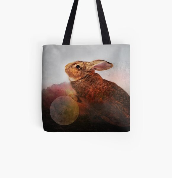Creature of Rabbit All Over Print Tote Bag