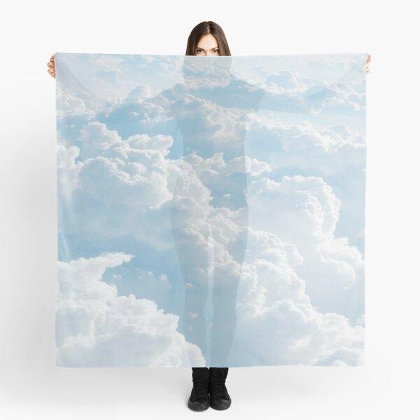 light blue clouds Scarf