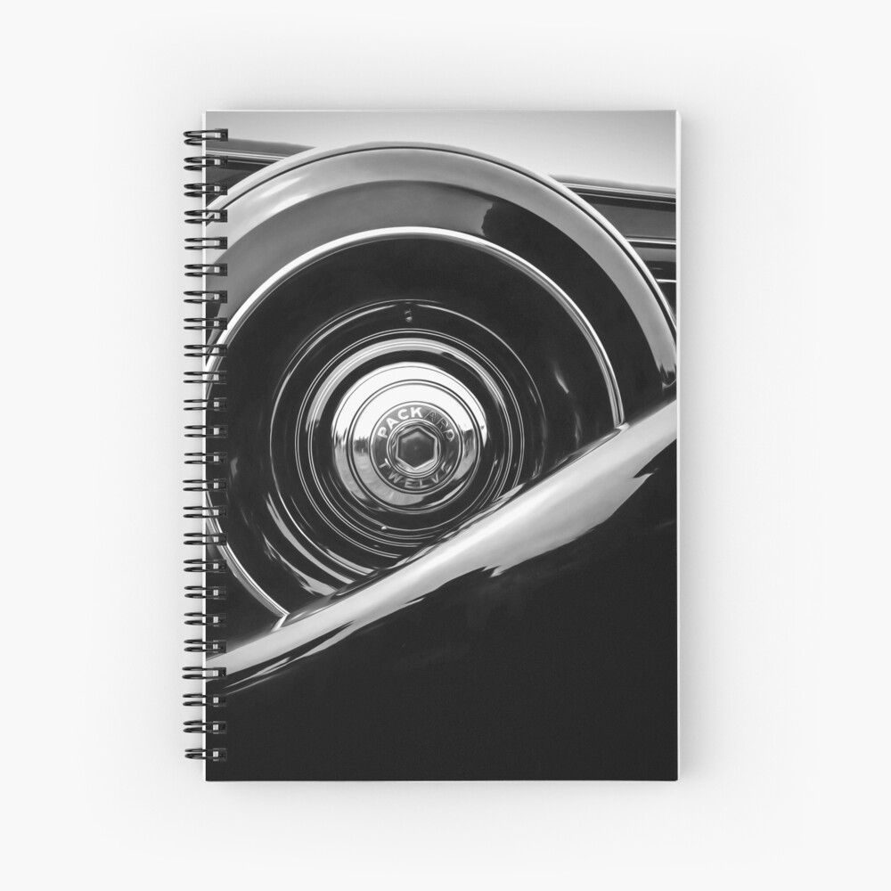 Packard Twelve Spiral Notebook