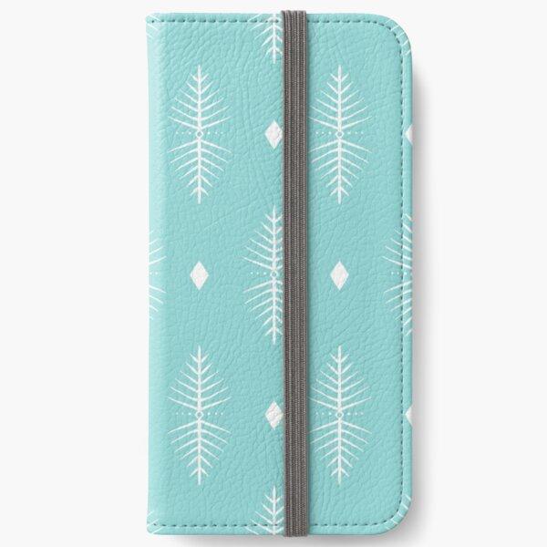 Geometric Diamond Pattern  iPhone Wallet