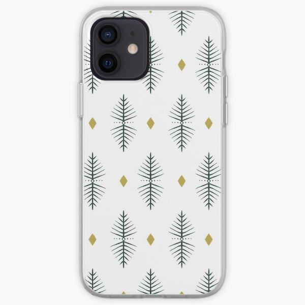 Geometric Diamond Pattern  iPhone Soft Case