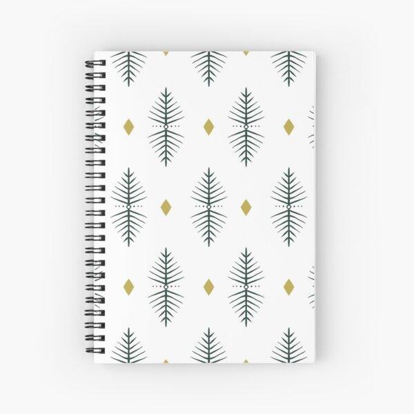 Geometric Diamond Pattern  Spiral Notebook