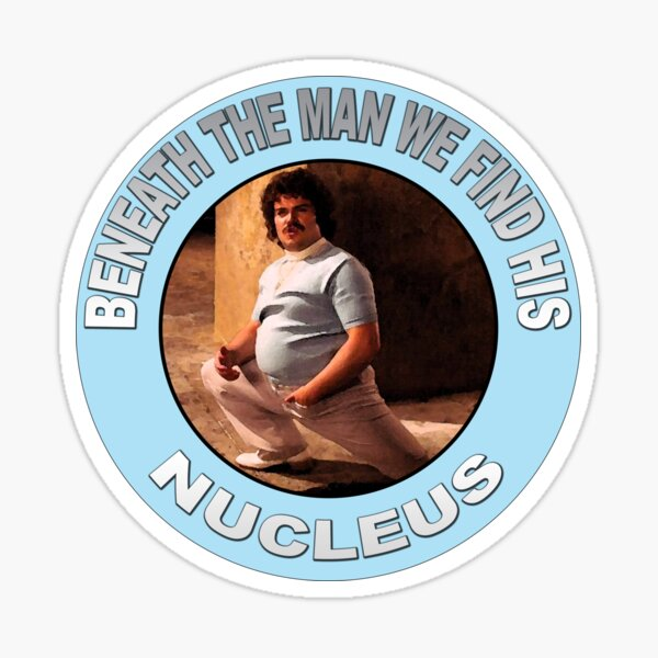 NUCLEUS BENEATH THE CLOTHES Sticker