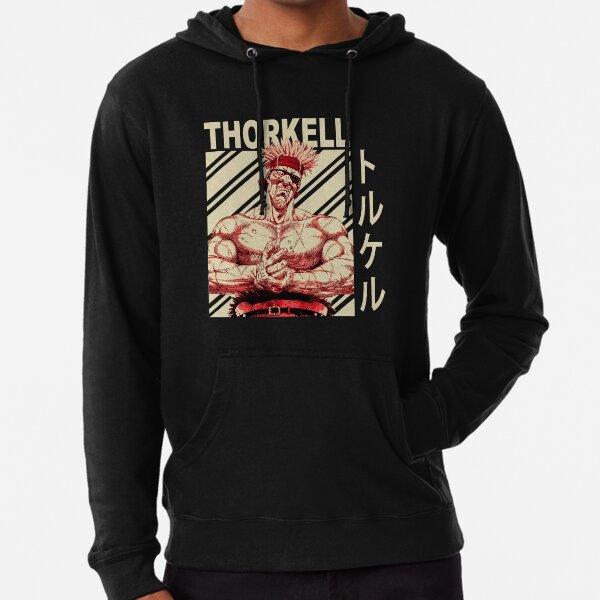 Thorkell the Tall - Vintage Art Lightweight Hoodie