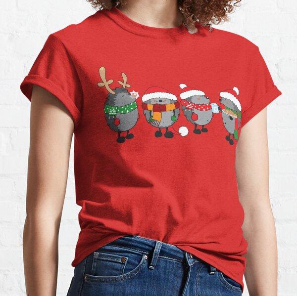 Erizos de navidad Camiseta clásica