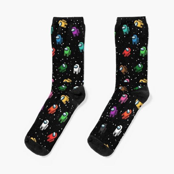 Among Us Pattern Socks