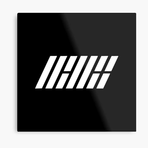 Best Selling - iKon Logo Metal Print
