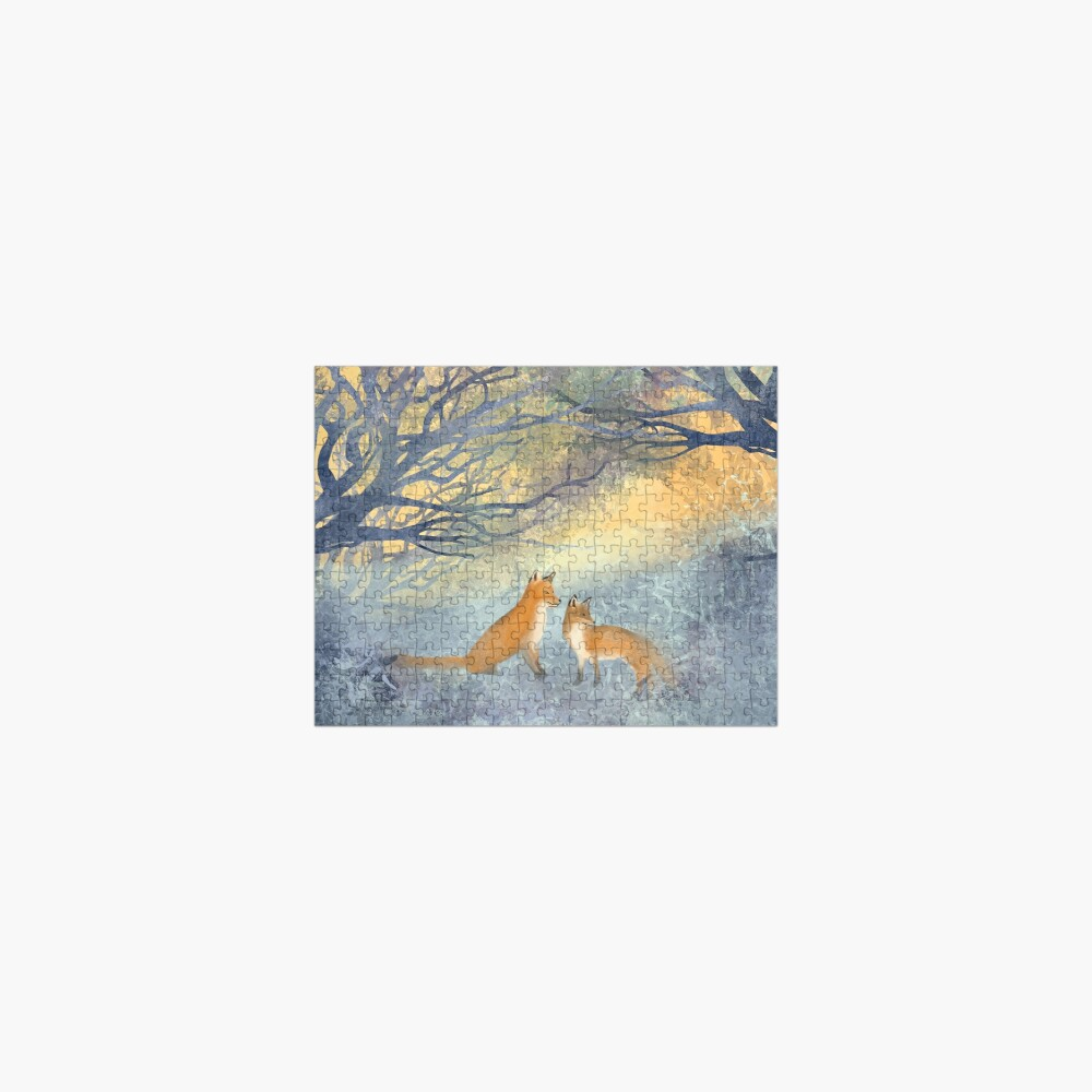 The Two Foxes Jigsaw Puzzle