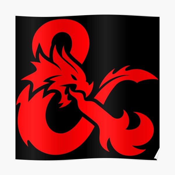Dungeons & Dragons Logo Poster