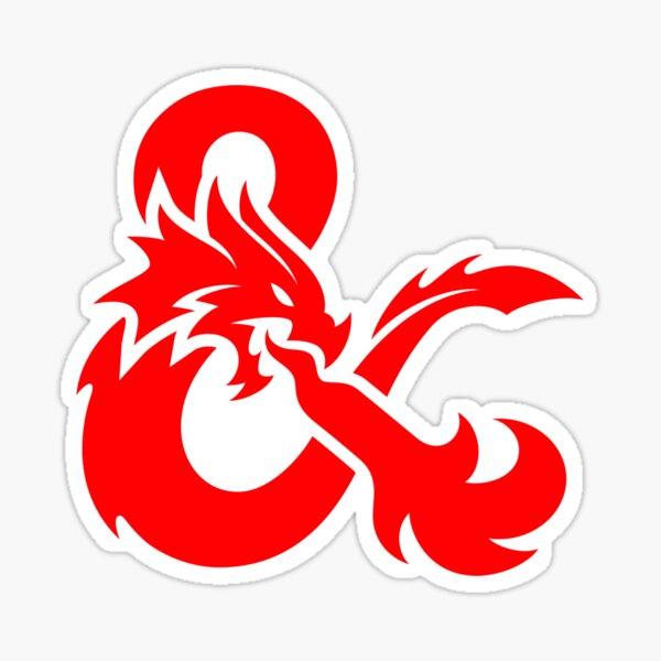 Dungeons & Dragons Logo Sticker