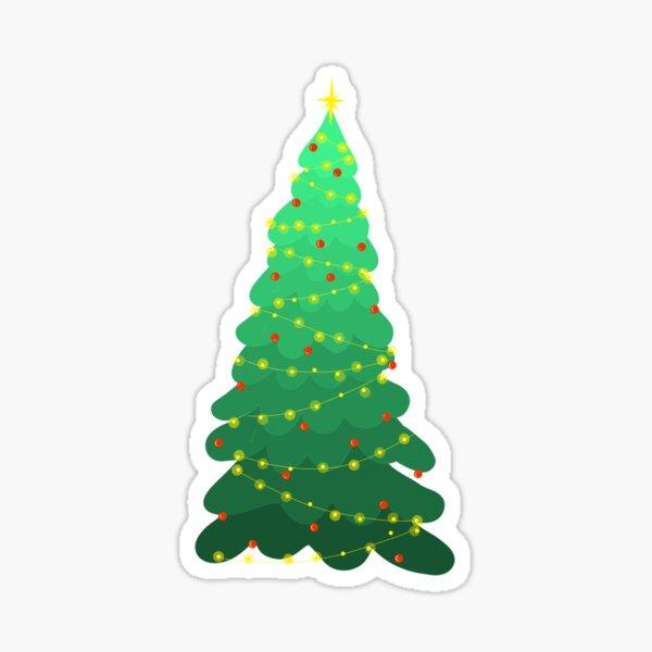 Christmas Tree w/ Ornaments  Sticker