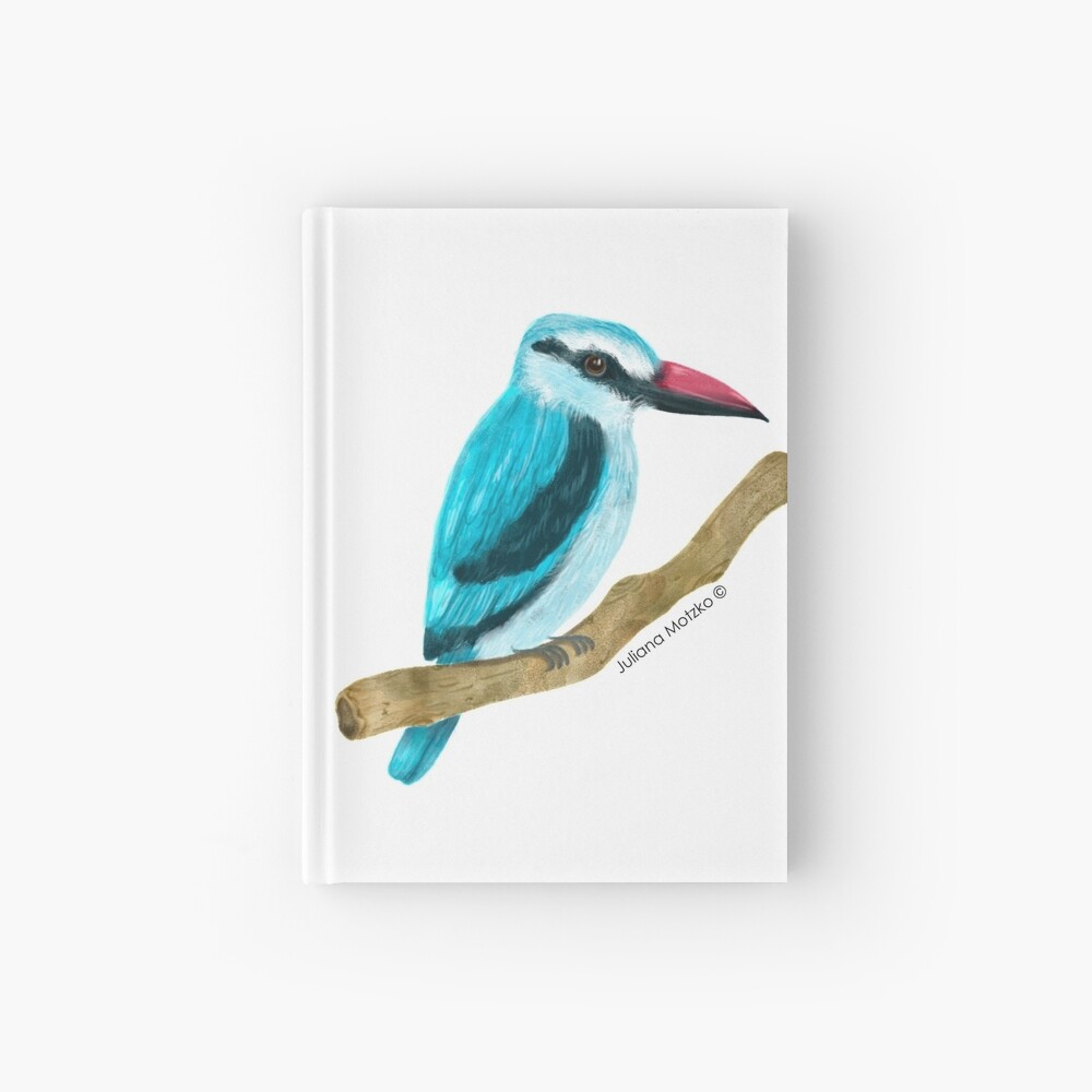 Woodland Kingfisher Hardcover Journal