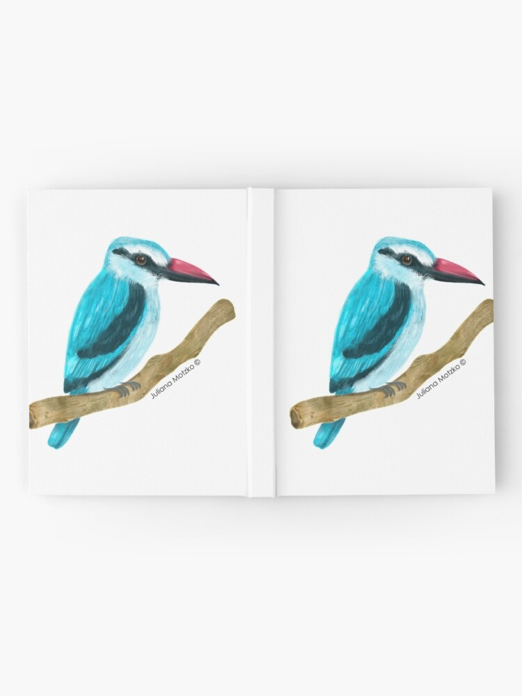 Alternate view of Woodland Kingfisher Hardcover Journal