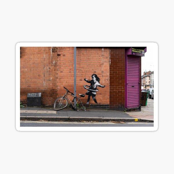 Banksy - Hula Girl Sticker
