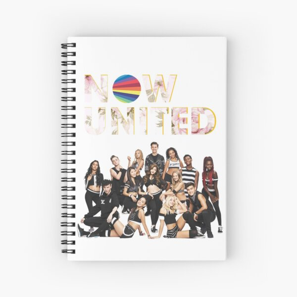 Now United Logo Photo - Back Spiral Notebook
