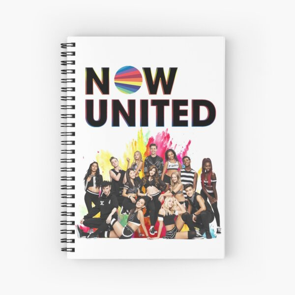 Now United - Colors Neon Now United Cahier à spirale
