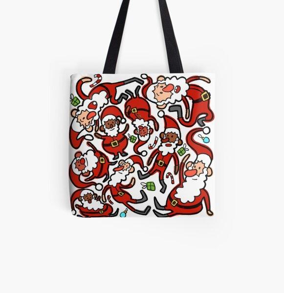 Santa! All Over Print Tote Bag