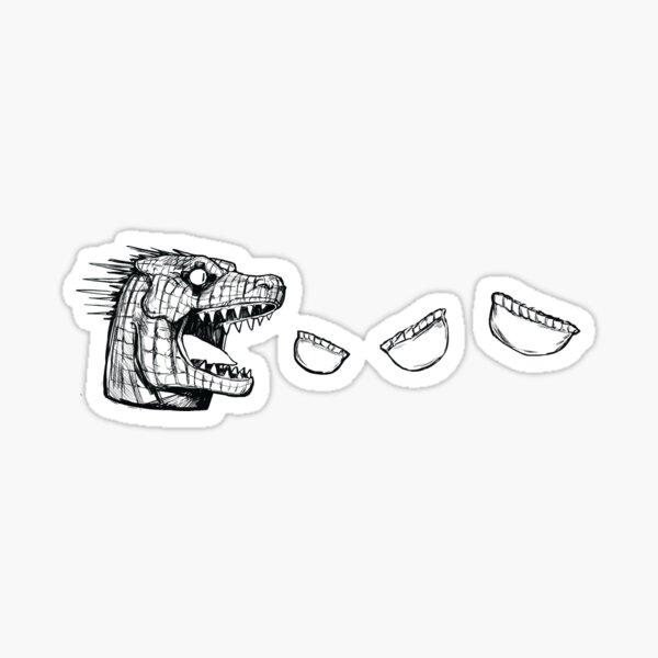 dorohedoro kaiman Sticker