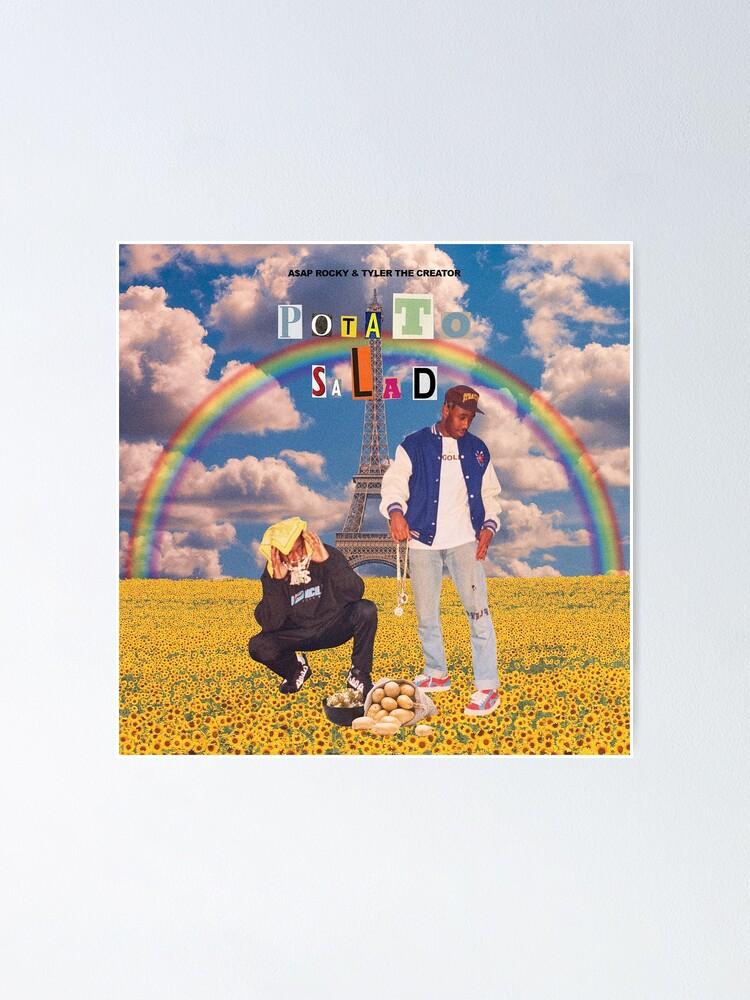 "Tyler The Creator /& A$AP Rocky ""Potato Salad"" Art Music Album Poster HD Print"