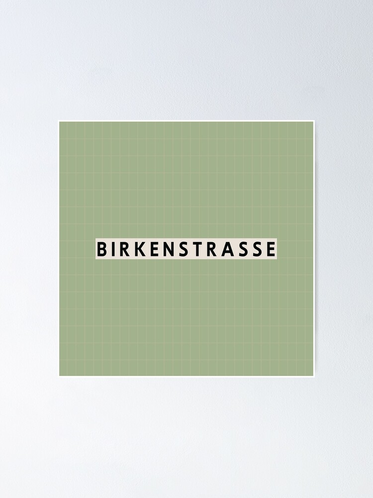 Alternate view of Birkenstraße Station Tiles (Berlin) Poster