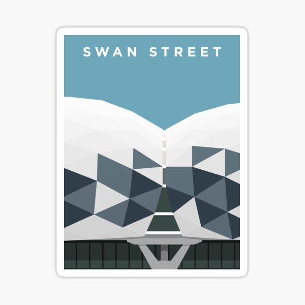 Swan Street Sticker