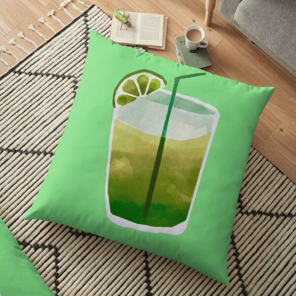 Lime drink Floor Pillow