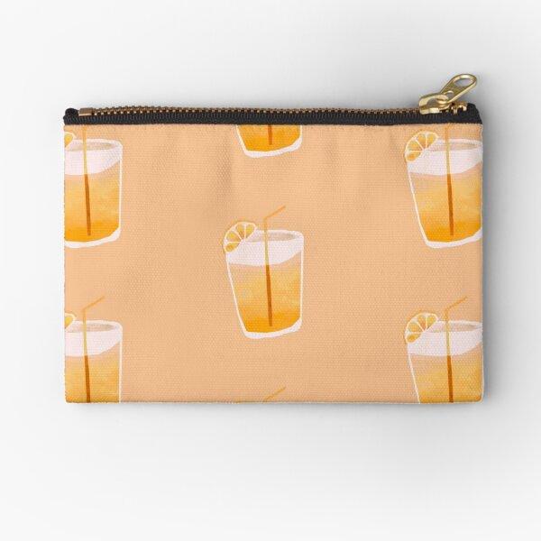 Lemon drink Zipper Pouch