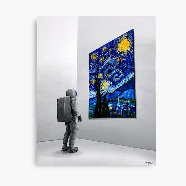 The Critic Canvas Print