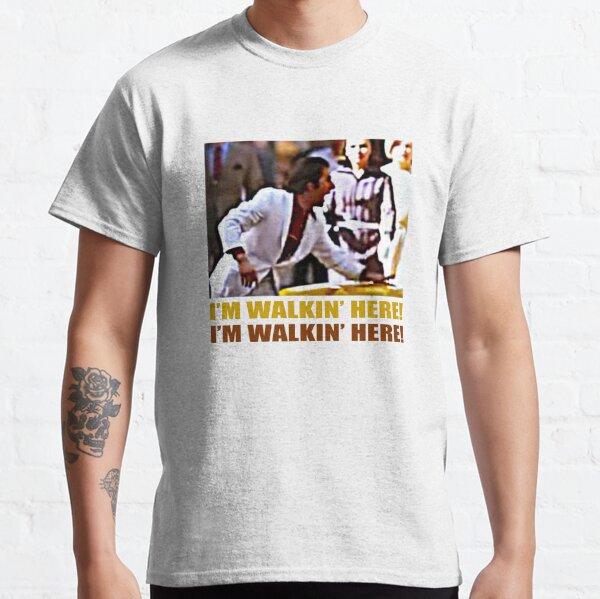I'm Walkin 'Here - Cowboy de medianoche Camiseta clásica