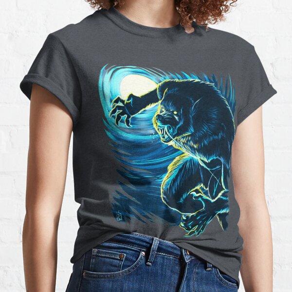 Blood Moon (Blue version) Classic T-Shirt