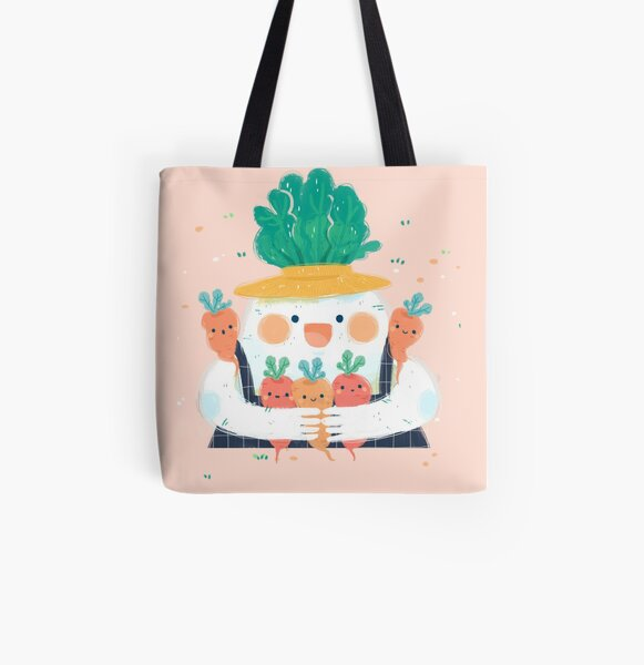 Me and my carrot All Over Print Tote Bag