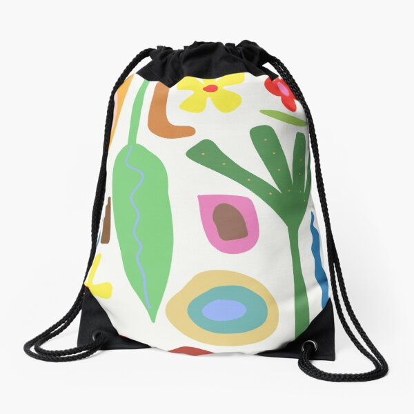 Garden Delight Drawstring Bag