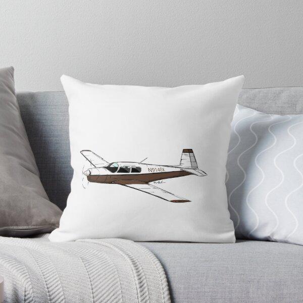Mooney N9140X Throw Pillow