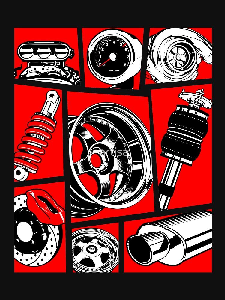 Cultura del coche de artisa