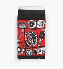 Car Culture Duvet Cover