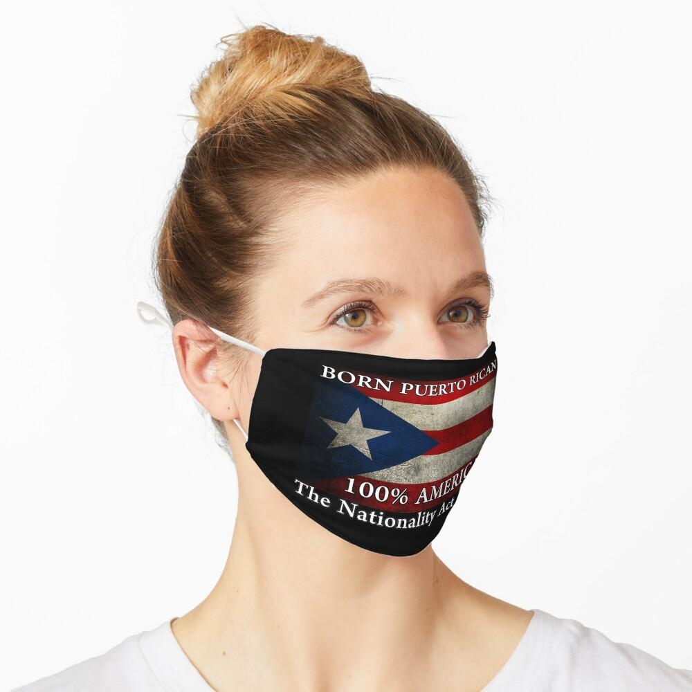 Born Puerto Rico Design Mask