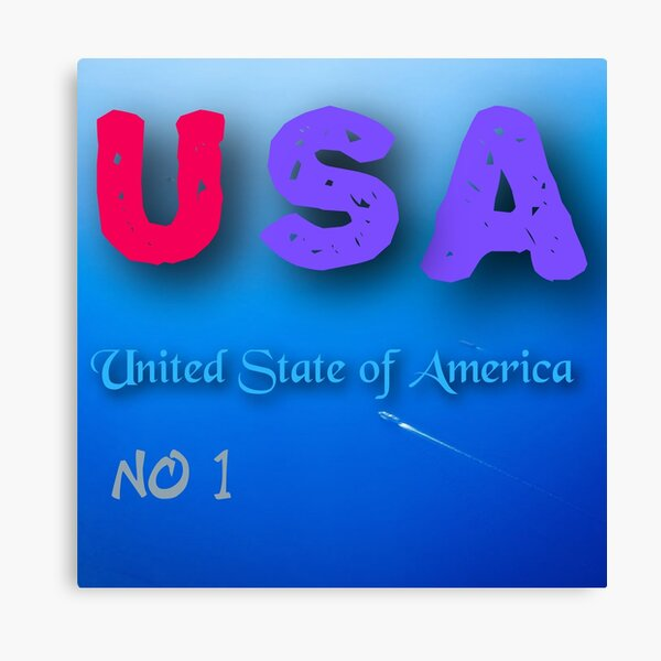 United State of America Canvas Print