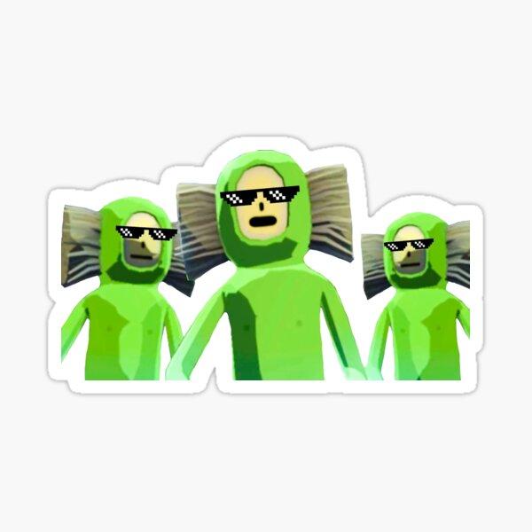 Green Gang Sticker
