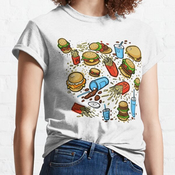 Burgers and Fries Classic T-Shirt