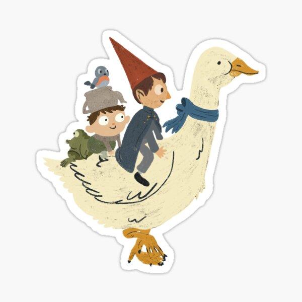 Gooseback Ride - Over the Garden Wall Sticker