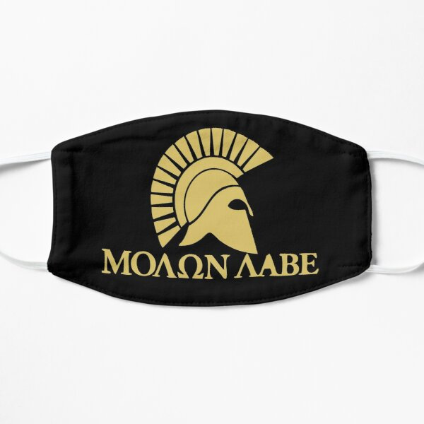 Molon Labe Flat Mask