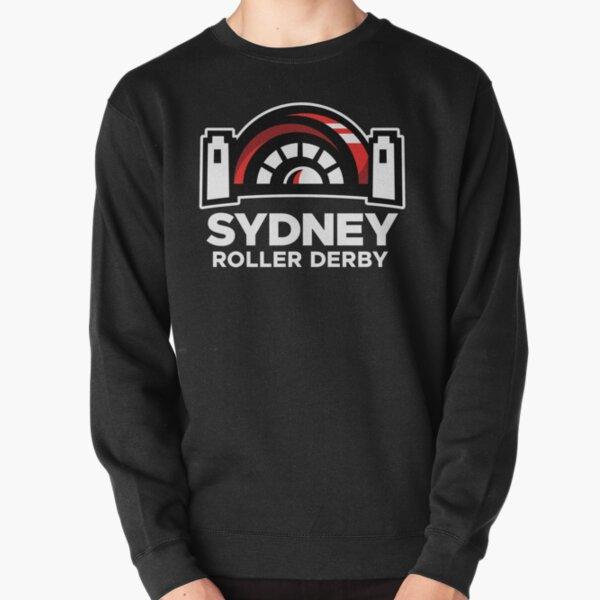 Sydney Roller Derby logo Pullover Sweatshirt