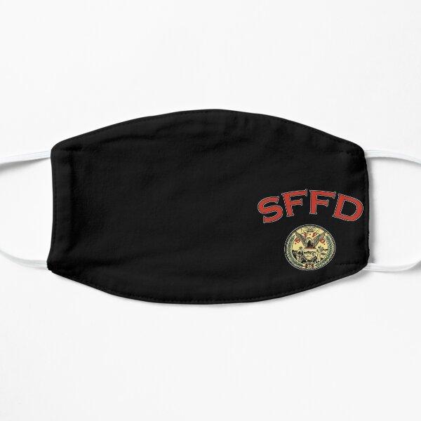 SFFD SAN FRANCISCO FIRE DEPARTMENT SEAL Flat Mask