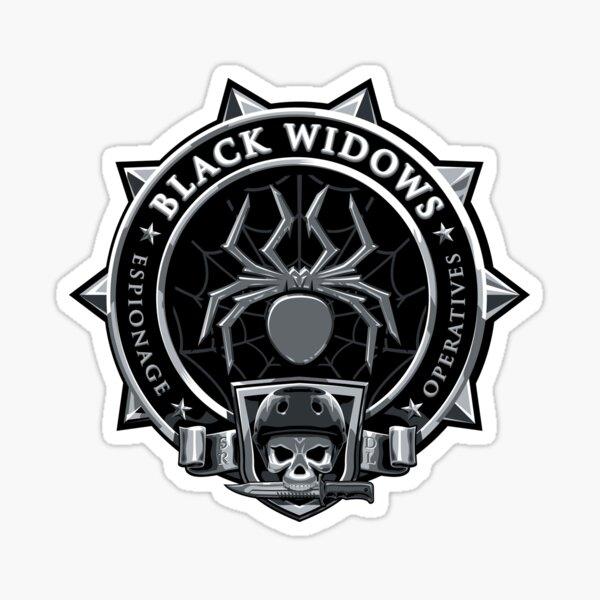 SRDL Black Widows Sticker