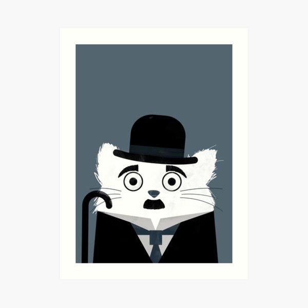 Cat Chaplin  Art Print