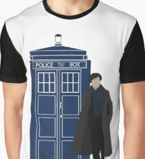 Dr. Who / Sherlock Graphic T-Shirt