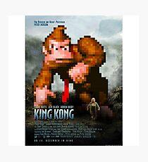 King Donkey Kong Photographic Print