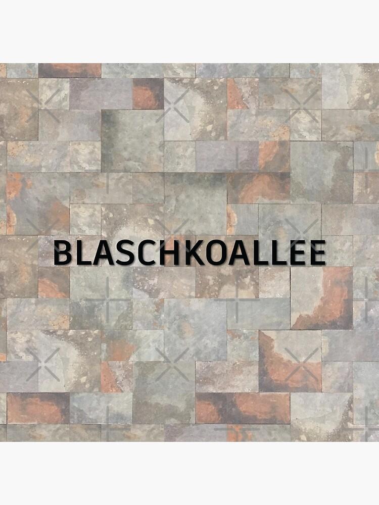 Blaschkoallee Station Tiles (Berlin) by in-transit