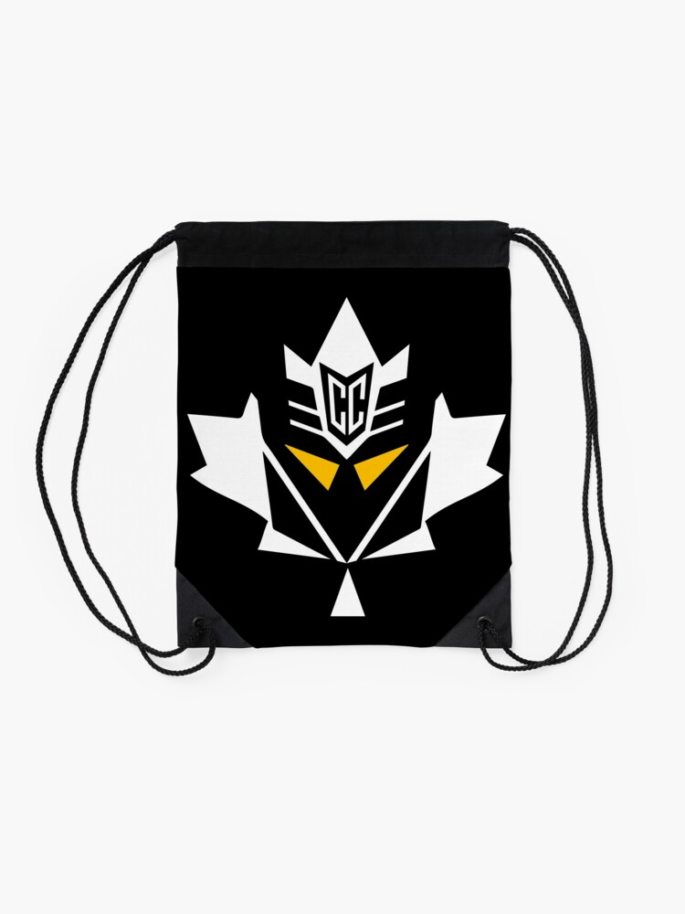 Alternate view of Mapletron Chase Claypool Pittsburgh Drawstring Bag